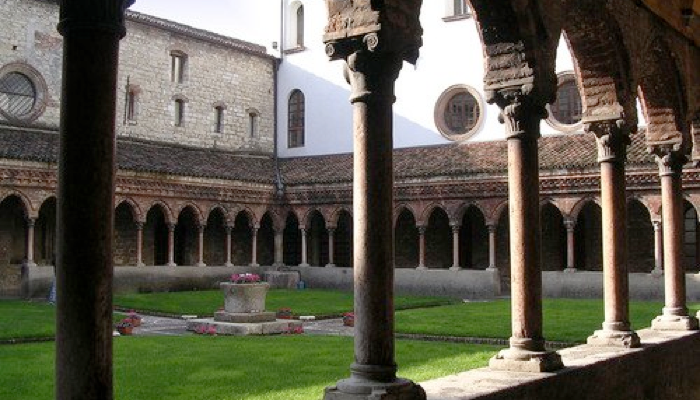 Cloister in Brescia