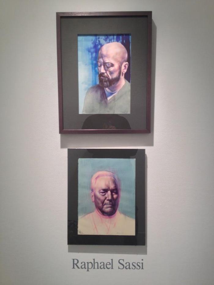 Raphael Sassi's latest exhibit