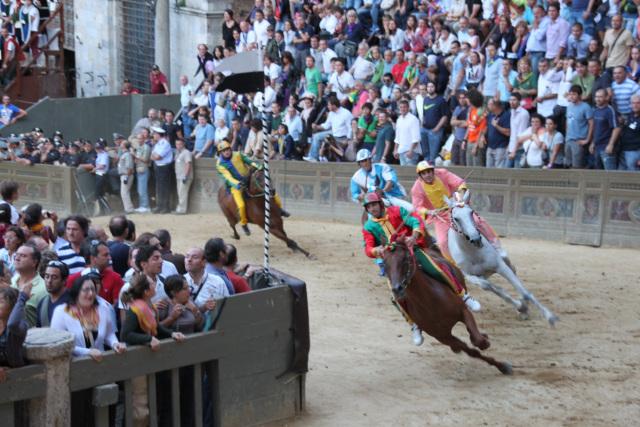 The Palio dell'Assunta, Siena 2010